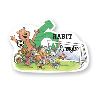 A graphic that reads Habit 6